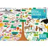 300 dílků Tree of Life (Book and Jigsaw)