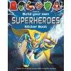 BYO Superheroes sticker book