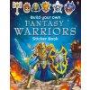 Build your own fantasy warriors sticker book