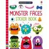 Usborne Minis Monster faces sticker book