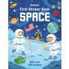 First Sticker Book Space 1