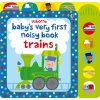 Baby's very first noisy book Trains 1