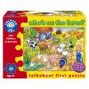 Orchard Toys Puzzle Kdo žije na farmě 20 dílků 1