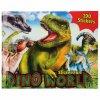 Kreativní sešit Dino World sticker 1
