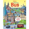 Wind up bus book with slot together tracks 1