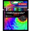 STABILO ARTYline Aquacolor - akvarelové pastelky (12/24 ks) (Počet kusů 24)