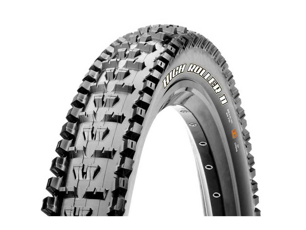 maxxis high roller ii exo tr 60 tpi 27.5 tubeless foldable mtb tyre