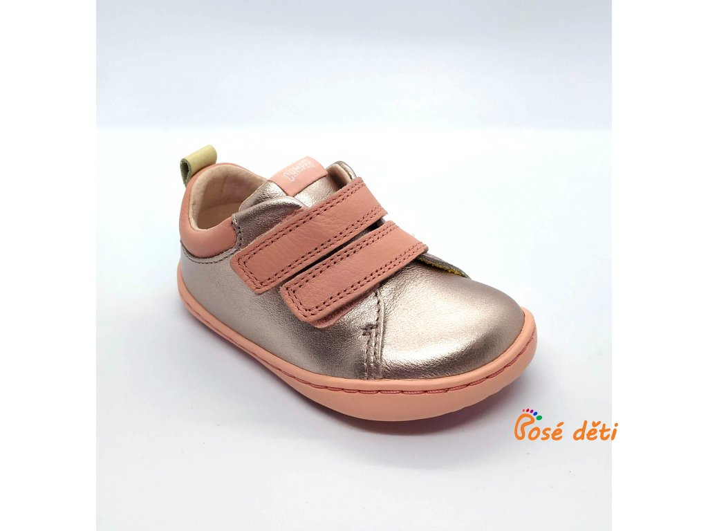 Camper Peu Cami First Walker Peach (Metallic Pink)