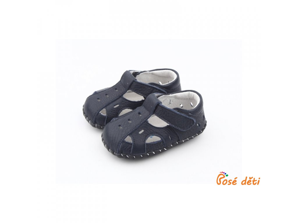 sandalky freycoo s kozenou podrazkou florian tmavomodre