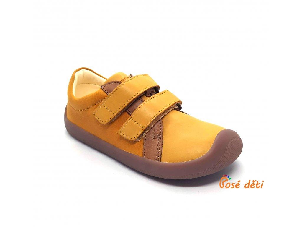 Bundgaard Walker Velcro Yellow