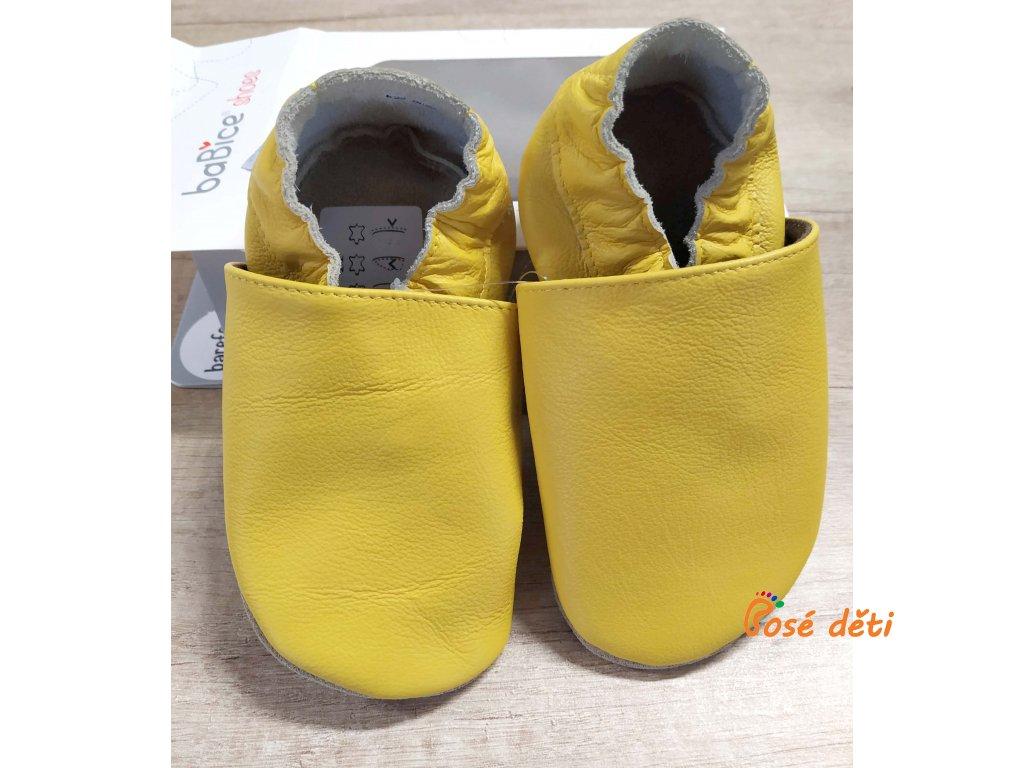 baBice barefoot - yellow