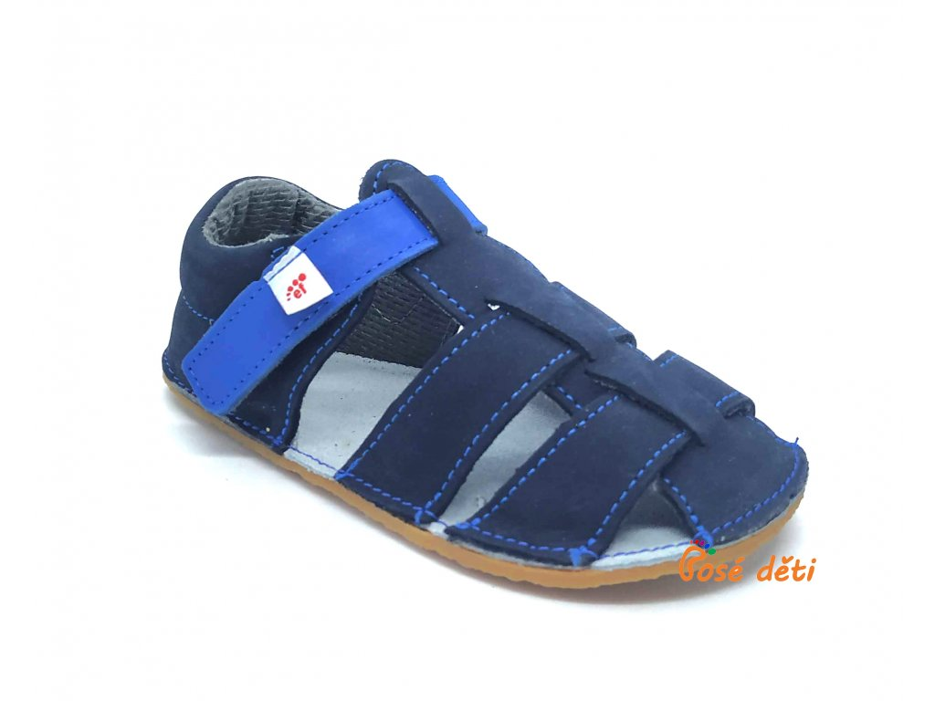 EF barefoot sandálky Tmavě modrá