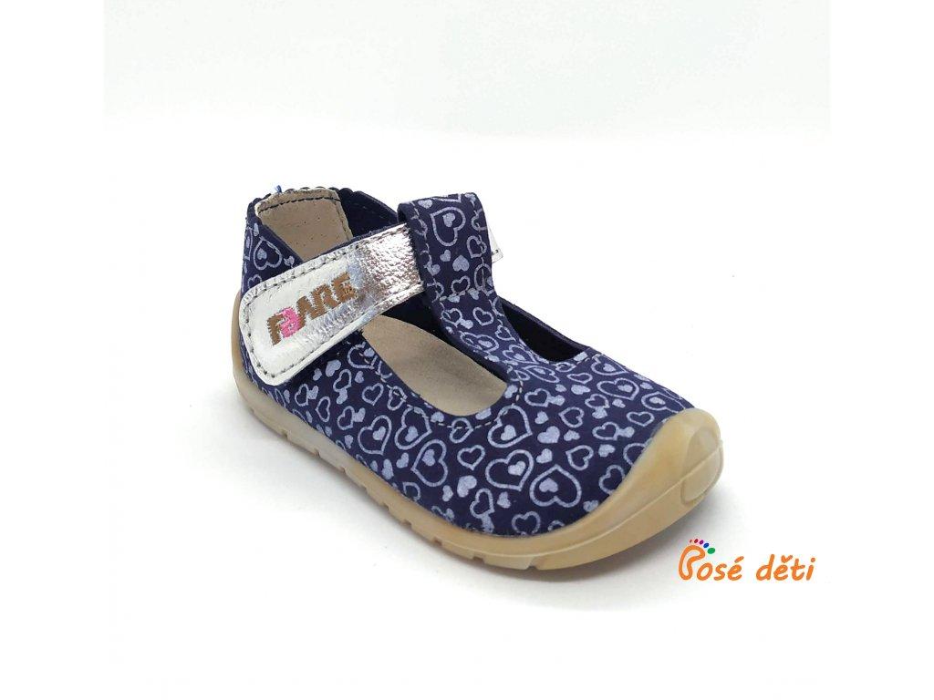 Fare Bare 5062202 - sandály textilní srdíčka