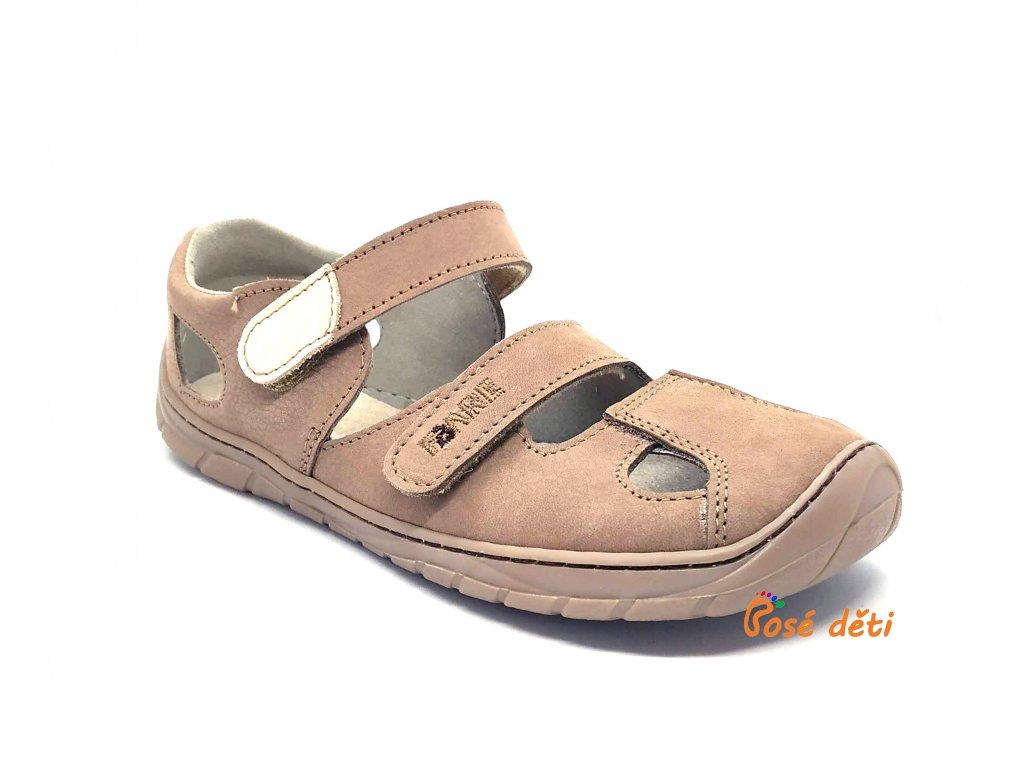 Fare Bare B5661281 - sandály kožené béžové