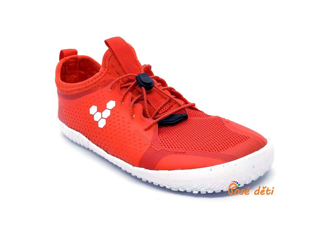 Vivobarefoot PRIMUS SPORT II Juniors Fiery Coral