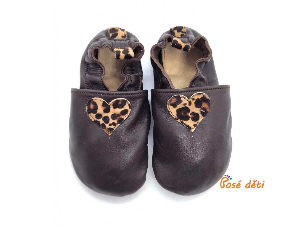 Bosé děti - hnědé s gepardem