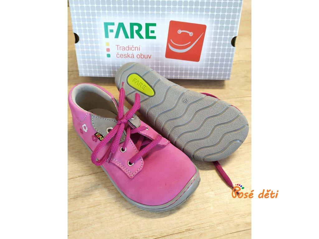 Fare Bare 5112252 - růžové (tkaničky)