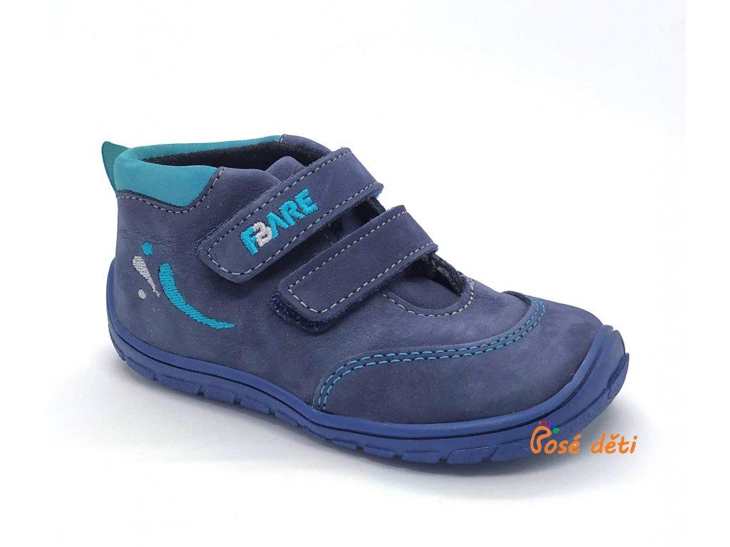 Fare Bare 5121203 - kotníkové modré