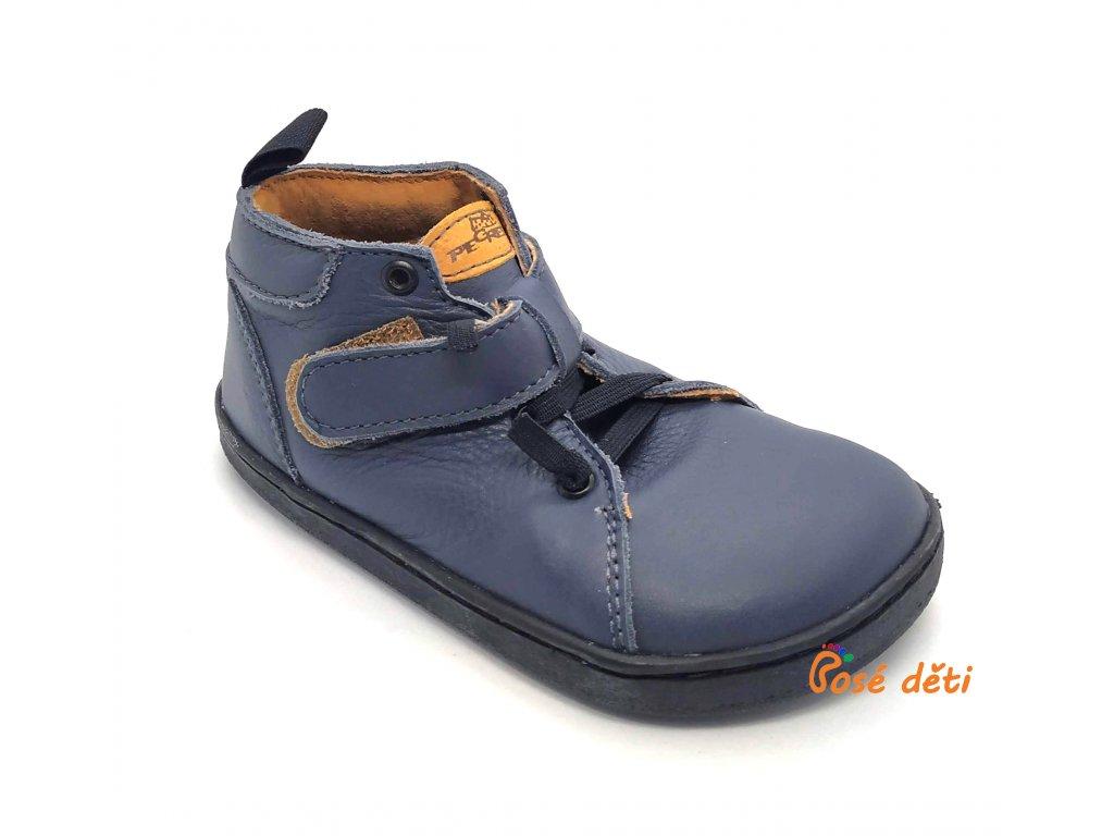Barefoot Pegres kotníkové BF52 - modré