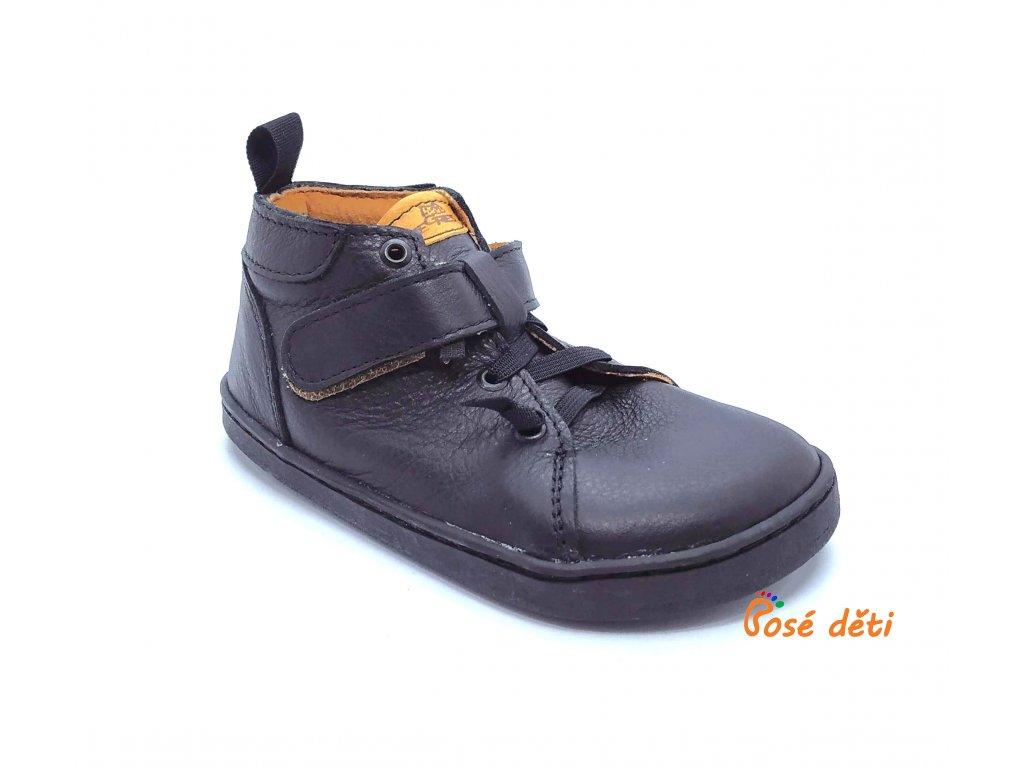 Barefoot Pegres kotníkové BF52 - černé