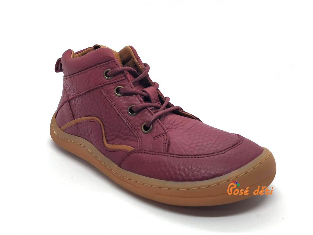 Froddo Barefoot Lace-up Bordeaux