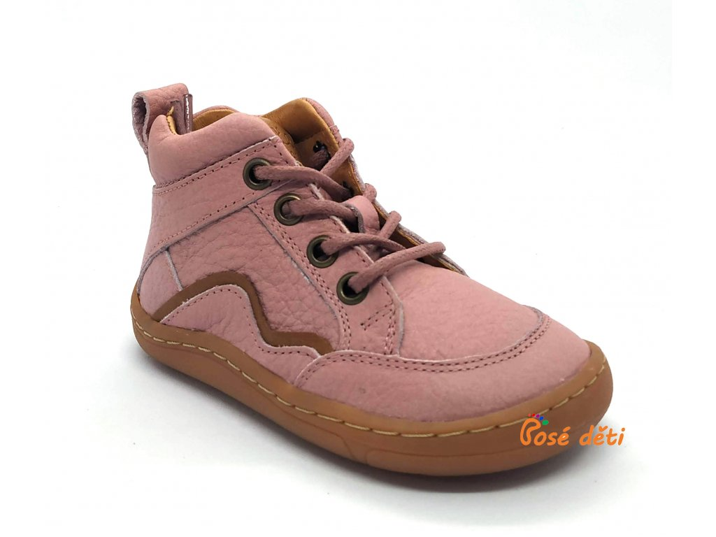 Froddo Barefoot Lace-up Pink