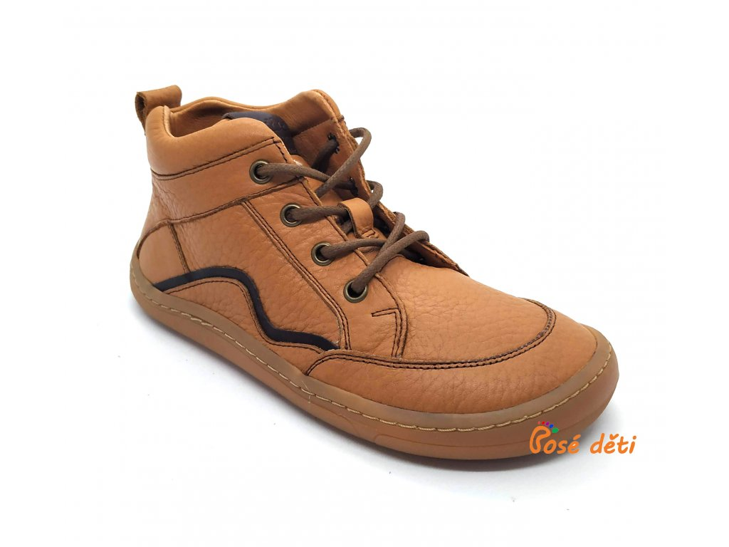 Froddo Barefoot Lace-up Cognac
