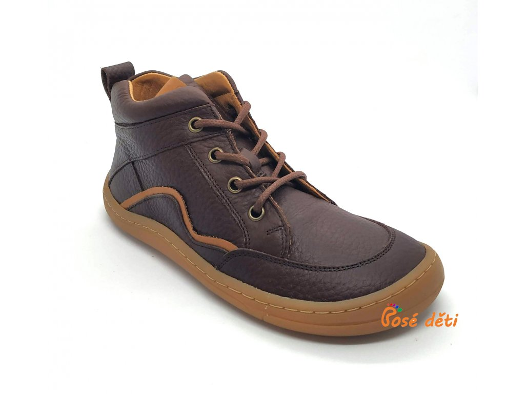 Froddo Barefoot Lace-up Brown