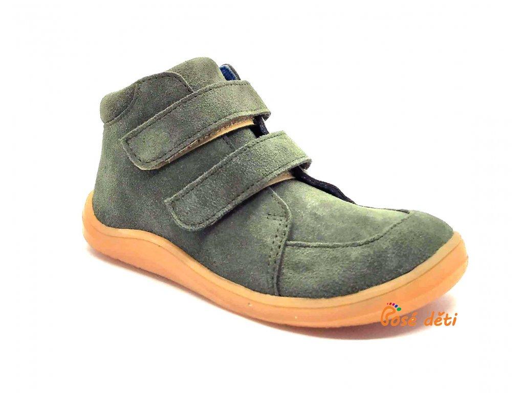Baby Bare Shoes - FEBO Fall Khaki