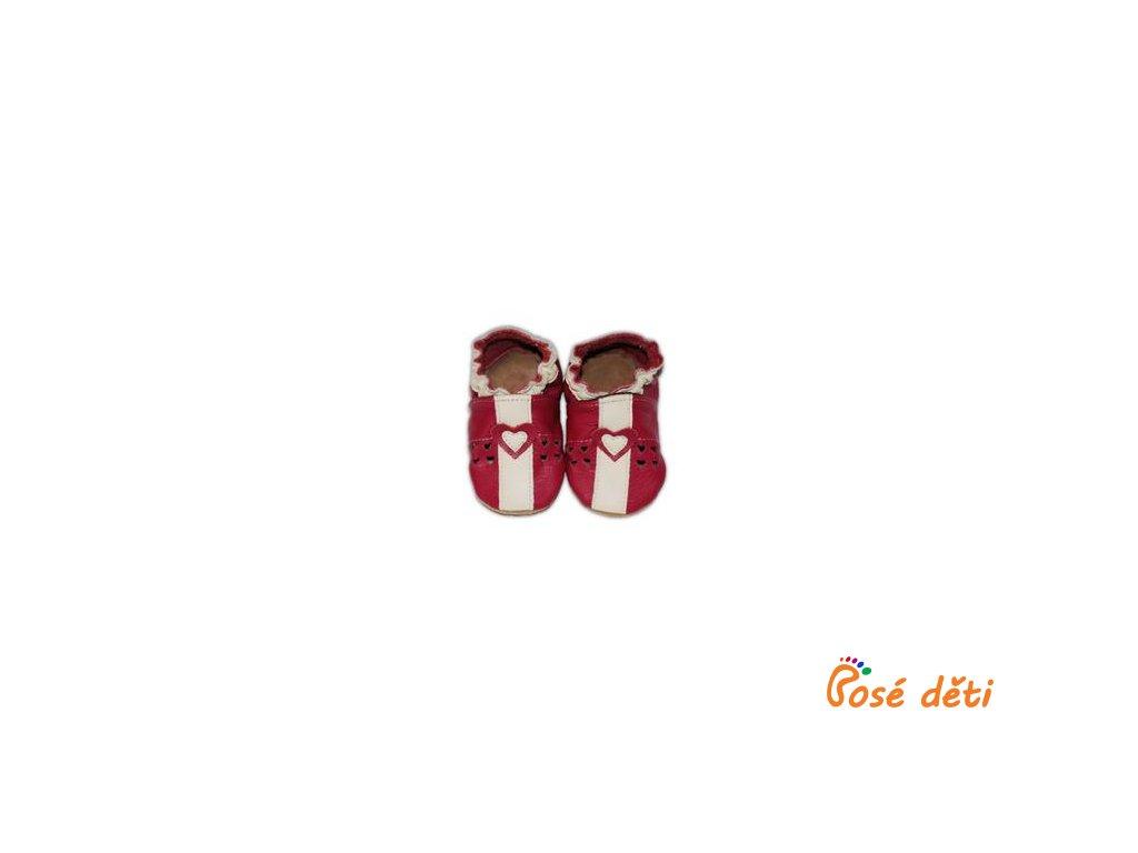 Fiorino Sandálky červené