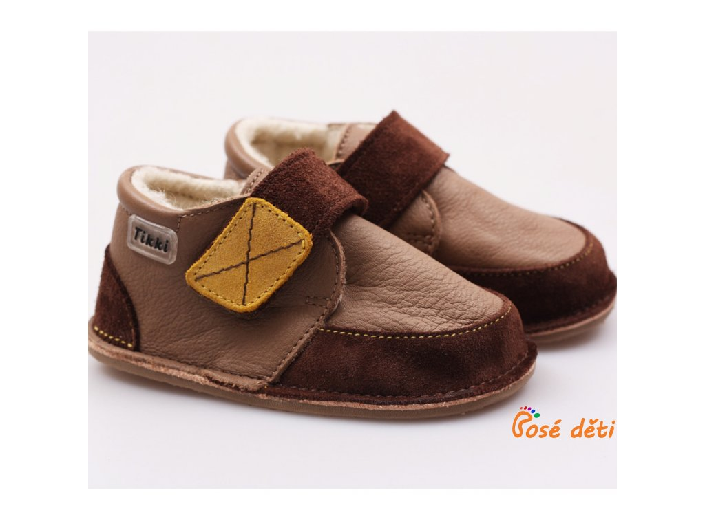 Tikki Boots Brown Delight - zimní