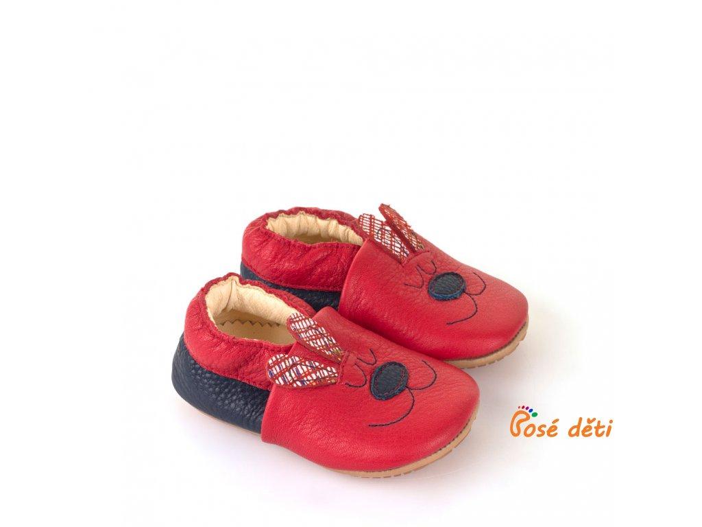 Froddo Prewalkers - capáčky Zajíček červený