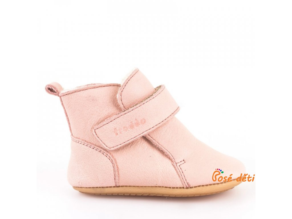Froddo Prewalkers Winter Pink - Sheepskin