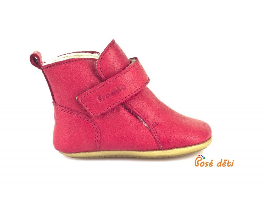 Froddo Prewalkers Winter Red - Sheepskin