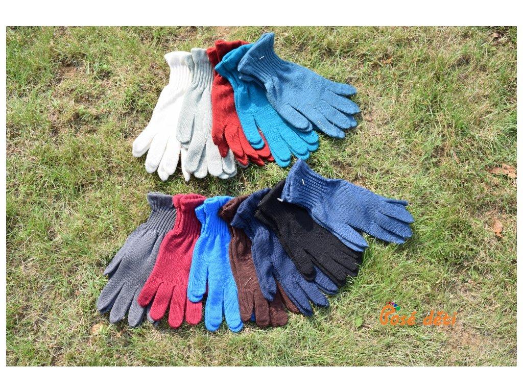 rukavice merino nahoře 20 21, pod nimi 19 20 a černé dětské
