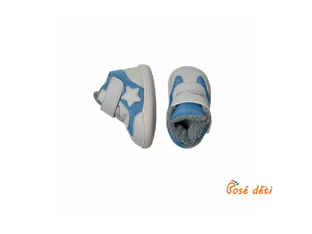 Little Blue Lamb Baby ZIMNÍ - Bater blue