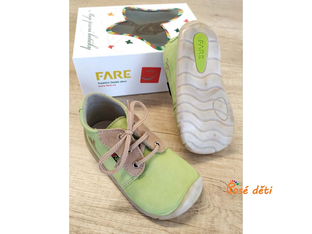 Fare Bare 5012231 - zelené (tkaničky)