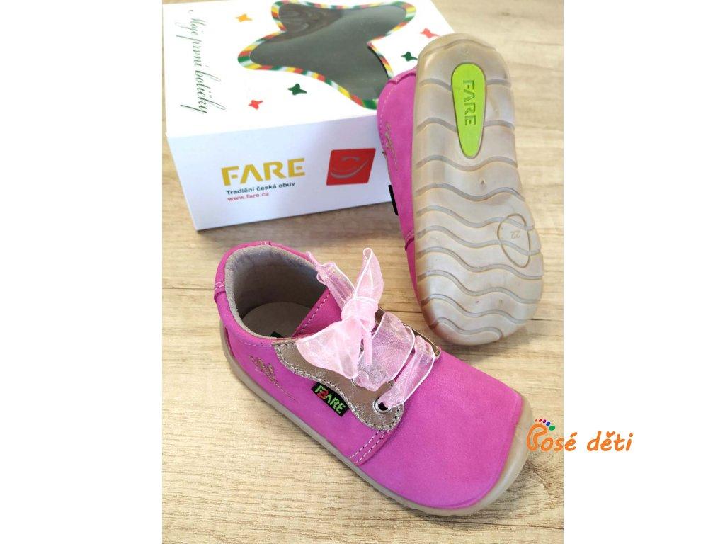 Fare Bare 5012251 - růžové (tkaničky)