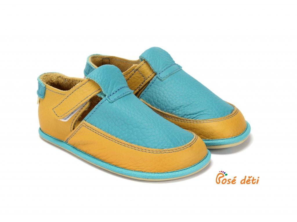 MS Lulu - modrá/žlutá