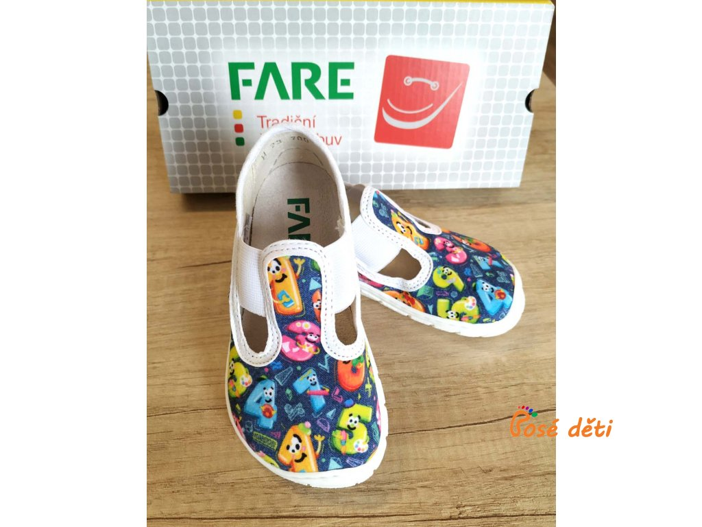 Fare Bare 5101401 - papuče s gumou - čísla