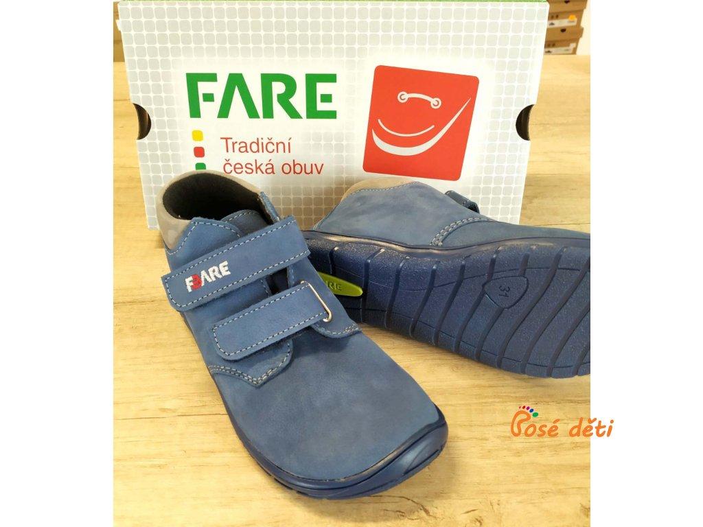 Fare Bare 5221202 - kotníkové modré