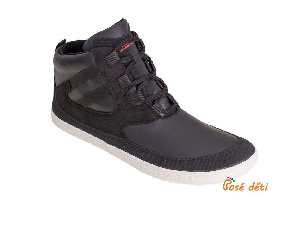 Sole Runner Naiad Black/White Plain Leather