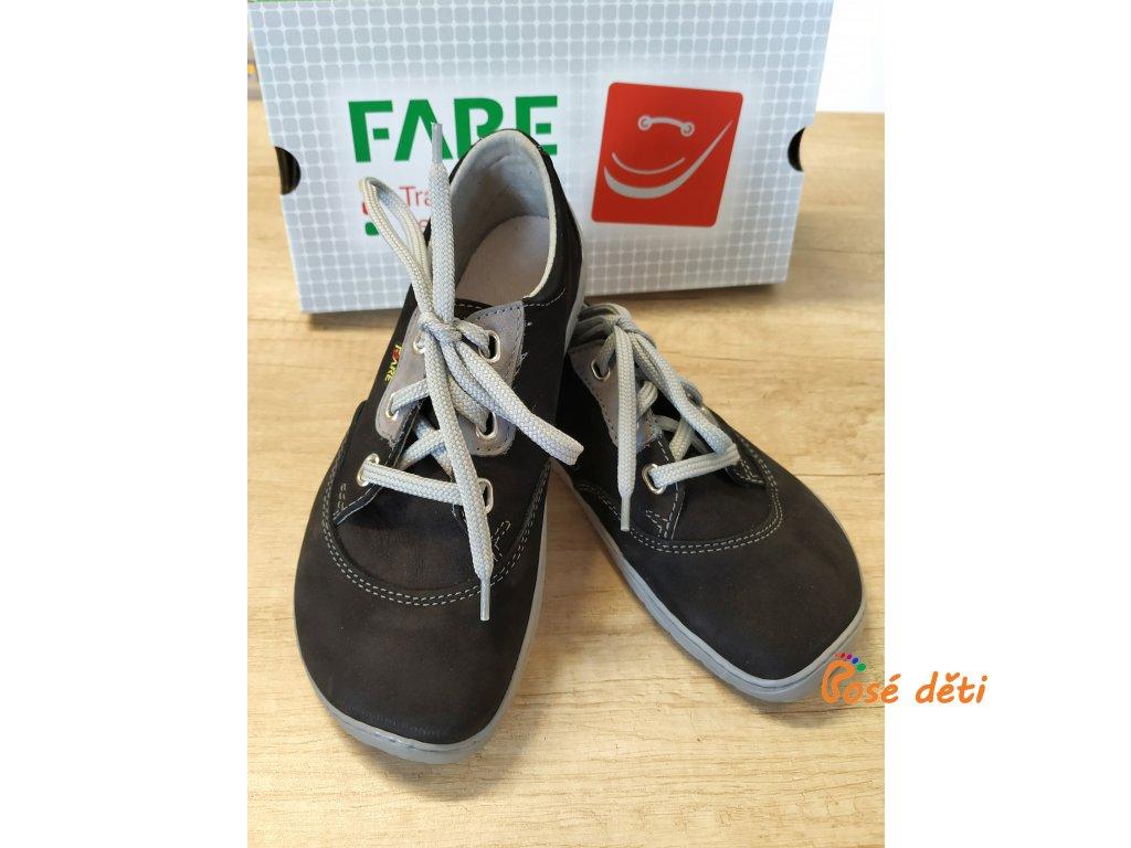 Fare Bare 5311211 - černé (tkaničky)