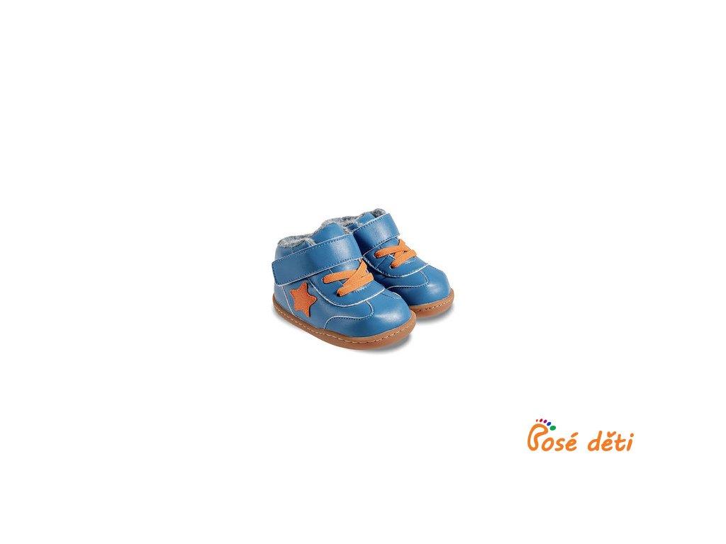 Little Blue Lamb Baby ZIMNÍ - Beck blue