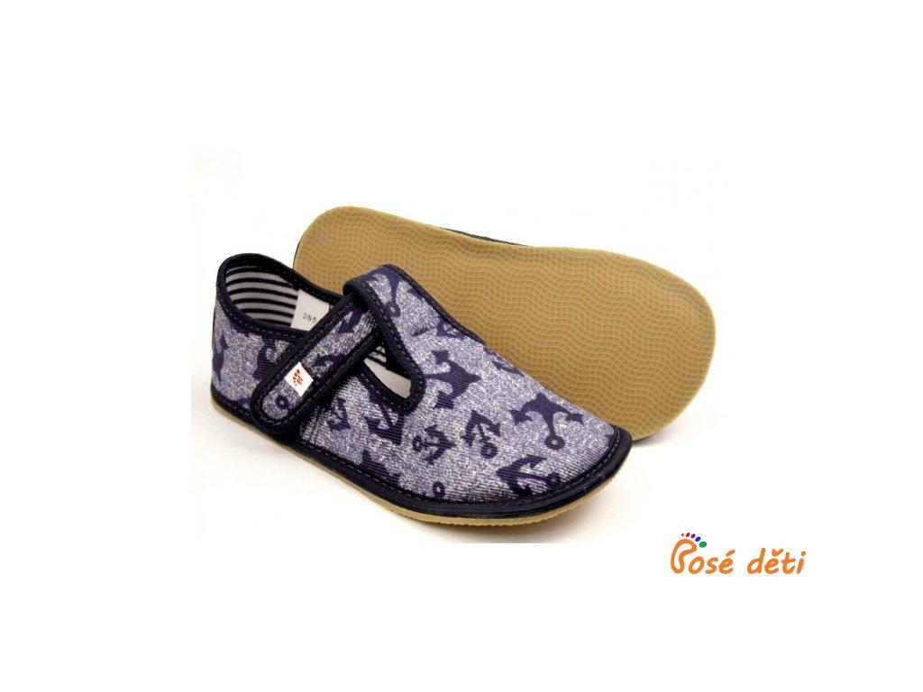 EF barefoot 395 Jeans Kotwica