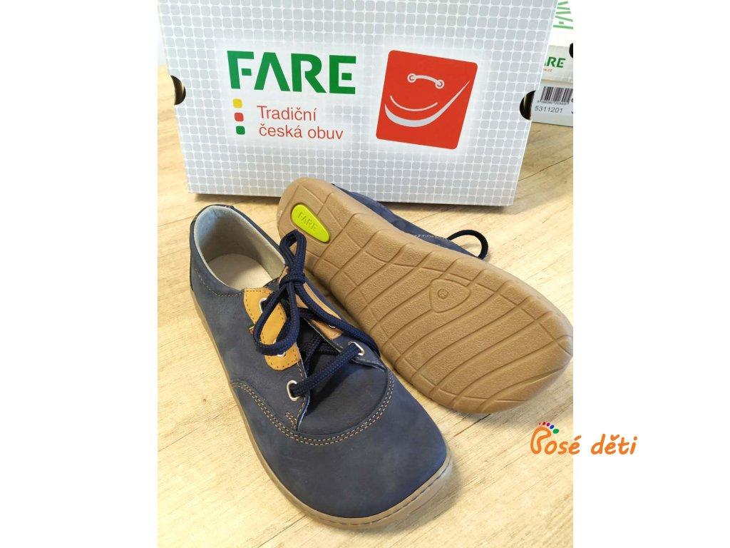 Fare Bare 5311201 - modré (tkaničky)