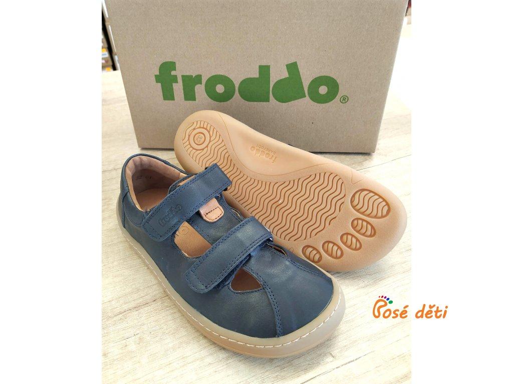 Froddo Barefoot Sandal Dark Blue