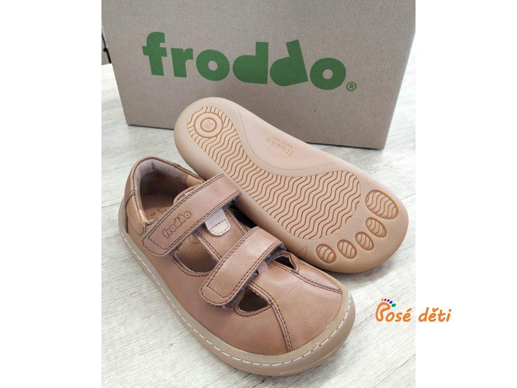 Froddo Barefoot Sandal Brown