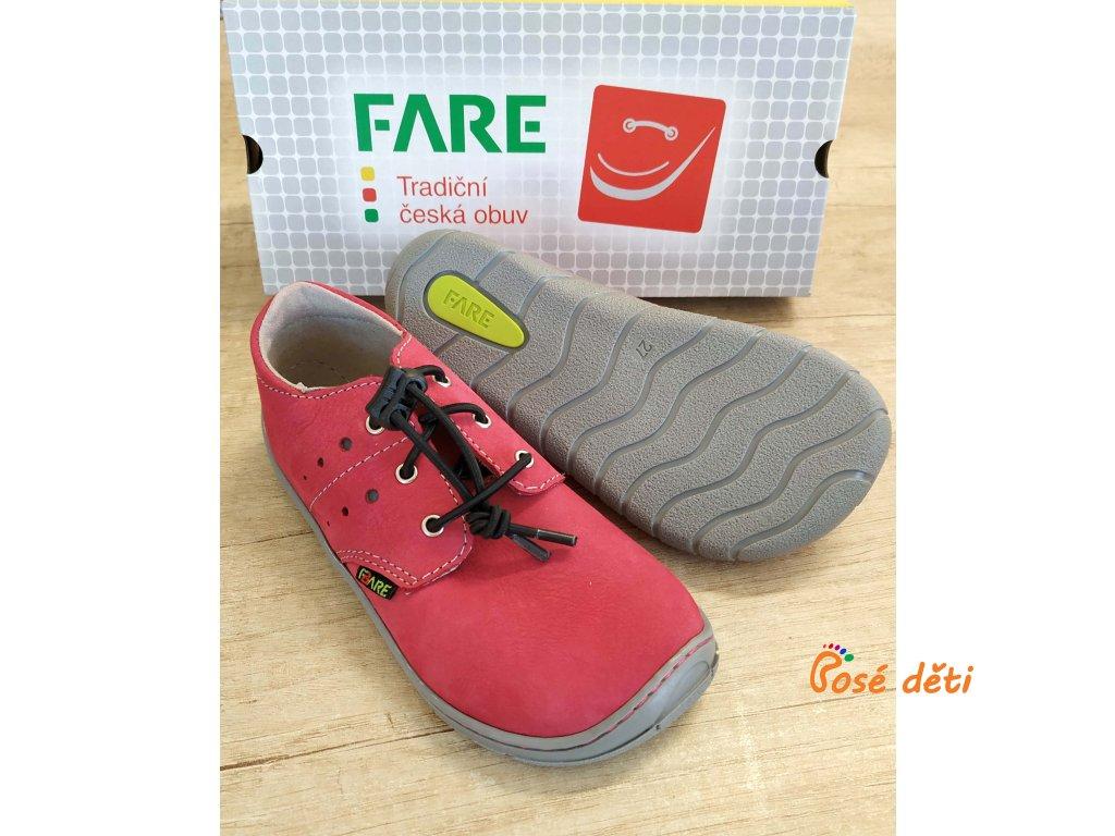 Fare Bare 5112252 - červené (tkaničky)