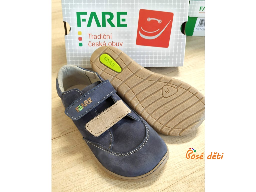 Fare Bare 5214201 - modrohnědé